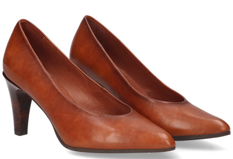 Pumps/Ballerina's - Hispanitas - Soho HI99457 Cognac Damespumps