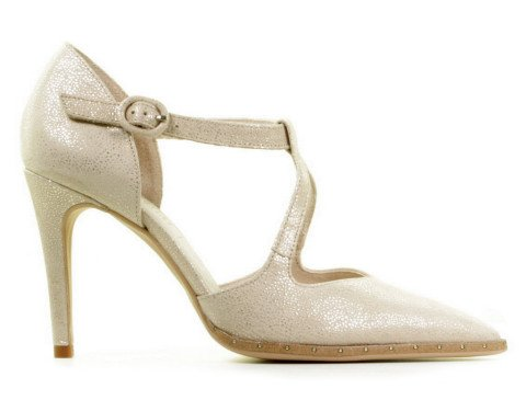 Pumps/Ballerina's - Hispanitas - HV00230 Starlight Platino Dames Pumps