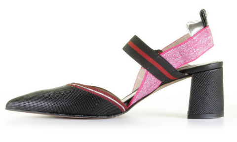 Slingbacks & Peeptoes - Maripe - 28232-5178 Nero Pumps