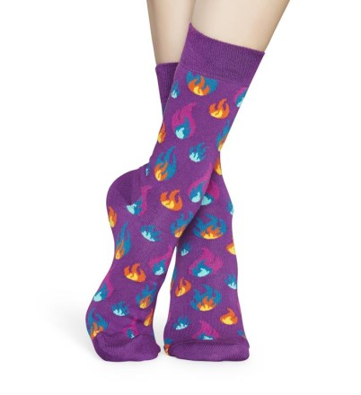 - Happy Socks - Flames FLM01-5300 Damessokken