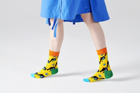 - Happy Socks - Monkey MNK01-2200 Damessokken