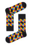 - Happy Socks - Optic Square OSQ01-9350 Damessokken