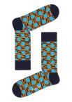 Happy Socks - Tiger Dot TDT01 6300 Damessokken - Accessoires - Zwart Divers