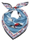 Becksondergaard - Eyes On Silk Light Blue Sjaals - Accessoires - Blauw Divers
