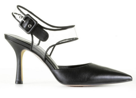 Slingbacks & Peeptoes - Bruno Premi - BW4602N Nero Pumps