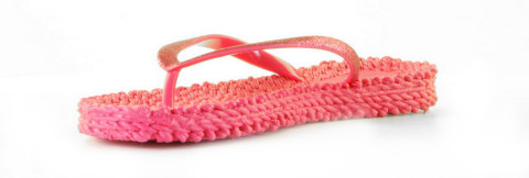 Slippers/Sandalen - Ilse Jacobsen - Cheerful 01-317 Warm Pink Damesslippers