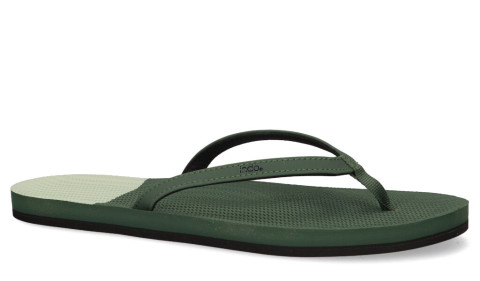 Slippers/Sandalen - Indosole - ESSNTLS Color Block Leaf/Light Leaf Dameslippers
