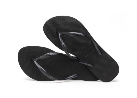 Slippers/Sandalen - Havaianas - Slim Black Damesslippers