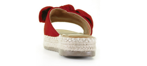 Plateau's - Mia and Jo - Haura Red Slippers