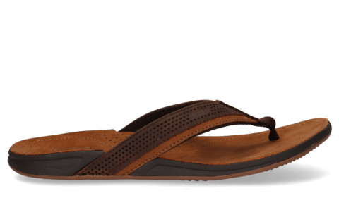 Slippers/Sandalen - REEF - J-Bay Perf Bruin Herenslippers