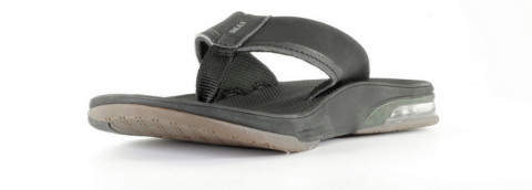 Slippers/Sandalen - REEF - Fanning Low Zwart Herenslippers
