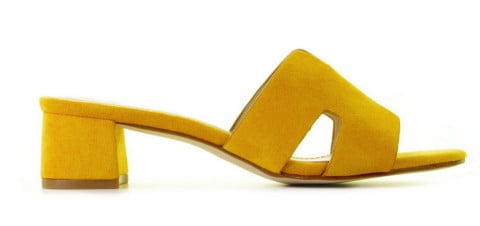Slippers/Sandalen - Ella Cruz - Keyla Yellow Damesslippers