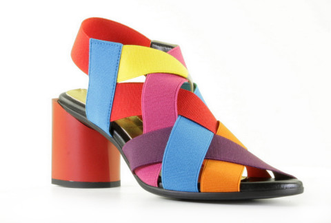 Slippers/Sandalen - Rapisardi - Wendy Orange/Royal/Violet/Yellow Sandalen