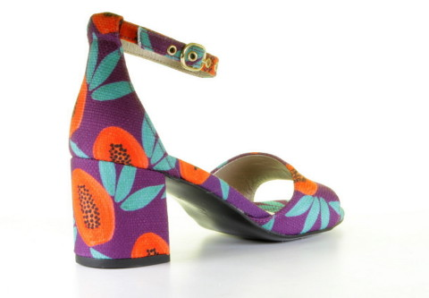 Slippers & Sandalen - Fabienne Chapot - Yasmine Pump Low Papaya