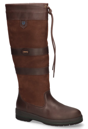 Laarzen - Dubarry - Galway 3885 Walnut Dames Outdoorboots