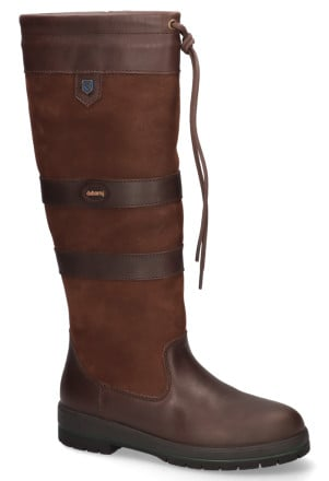 Laarzen - Dubarry - Galway 3885 Donkerbruin Dames Outdoorboots
