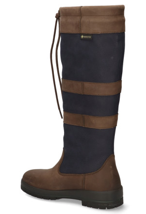 Laarzen - Dubarry - Galway Navy/Brown Damesboots