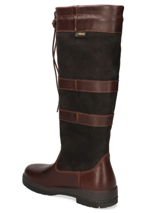 Laarzen - Dubarry - Galway 3885 Black/Brown Dames Outdoorboots
