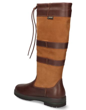 Laarzen - Dubarry - Galway 3885 Bruin Heren Outdoorboots
