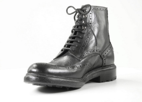 Boots - Walk In The Park - C482 Donkergrijs Heren Veterboots