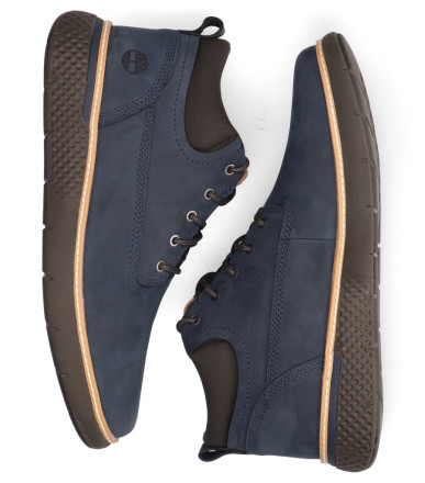 Boots - Timberland - Cross Mark Plain-Toe Chukka Blauw Heren Veterboots