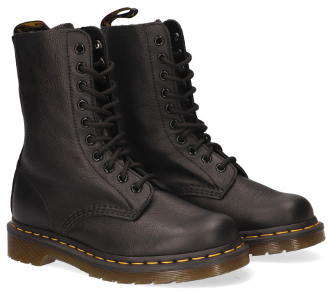 Enkellaarsjes - Dr. Martens - 1490 Virginia Black Dames Veterboots