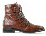 Cypres - 2RED201 Scotch Dames Enkelboots - Dames - Cognac