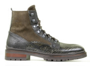 Rehab - Melbourne Snake Dark Green Heren Veterboots - Heren - Groen Divers
