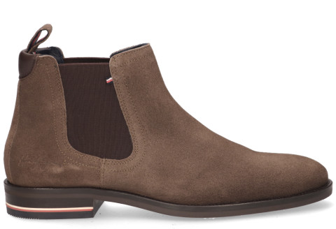 Boots - Tommy Hilfiger - FM0FM03112 Bruin Heren Chelseaboots