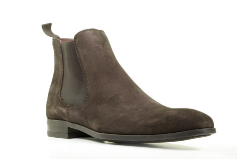 Boots - Daniel Kenneth - Justin-2 Dark Brown Heren Chelseaboots