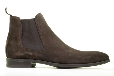 Boots - Daniel Kenneth - Justin-2 Donkerbruin Heren Chelseaboots