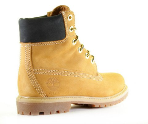 Enkellaarsjes - Timberland - 45th Anniversary 6 Inch Boot TB 0A1SI1231 Wheat Dames Veterboots