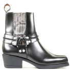 Scotch And Soda - Sheila Black Dames Enkelboots - Dames - Zwart Divers