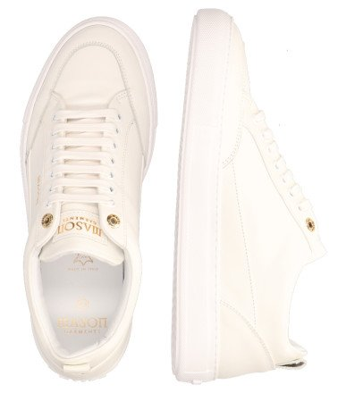Sneakers - Mason Garments - Tia 9A Softy Leather White Herensneakers