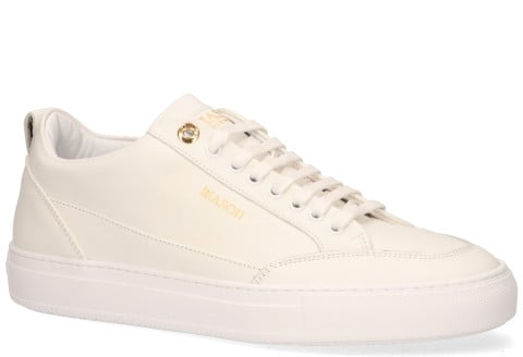Sneakers - Mason Garments - Tia Softy Leather White Herensneakers