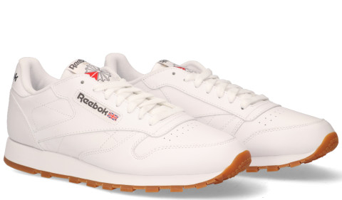 - Reebok - Classic Leather Wit Herensneakers
