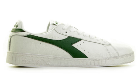Sneakers - Diadora Sport - Game L Low Waxed Off-White/Groen Herensneakers