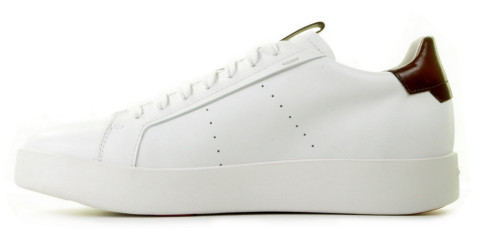Sneakers - Santoni - 21303 Wit Herensneakers