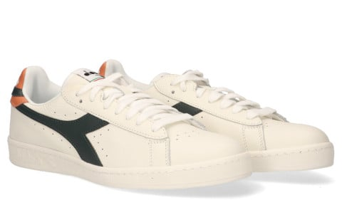 Sneakers - Diadora Sport - Game L Low Wit/Blauw Herensneakers