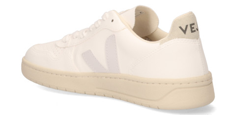 Sneakers - VEJA - V-10 CWL Wit/Wit/Naturel Damessneakers