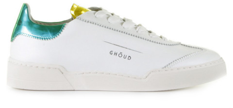 Sneakers - GHOUD - Venice L1LW LM53 Mirror White/Yellow Damessneakers