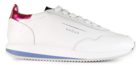 Sneakers - GHOUD - G2LW LM08 White/Fuxia Damessneakers