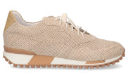 VIA VAI - Giulia Trim Beige Damessneakers - Dames - Beige