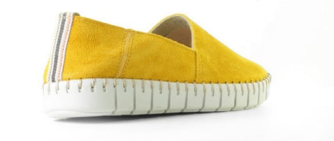Sneakers - Cypres - Kristen Ocre Damesloafers