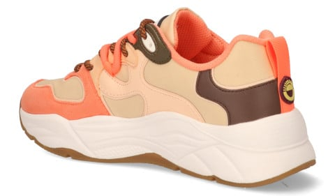 Sneakers - Scotch And Soda - Celest Roze/Multicolor Damessneakers