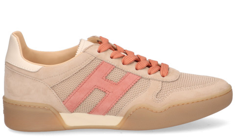 Sneakers - Hogan - H357 Beige/Roze Damessneakers