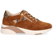 DLSport - 4642 Bark Damessneakers - Dames - Cognac
