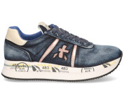 Premiata - Conny 4649 Blauw Damessneakers - Dames - Blauw Divers