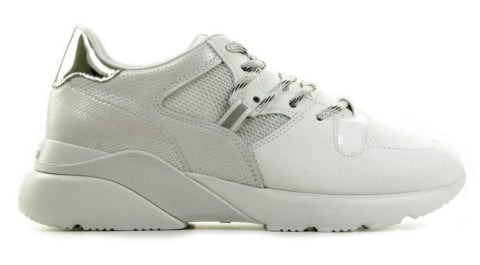 Sneakers - Hogan - Active One White/Silver Damessneakers