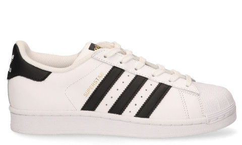 adidas superstar dames zwart wit